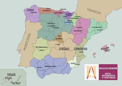 Politik Land Spanien
